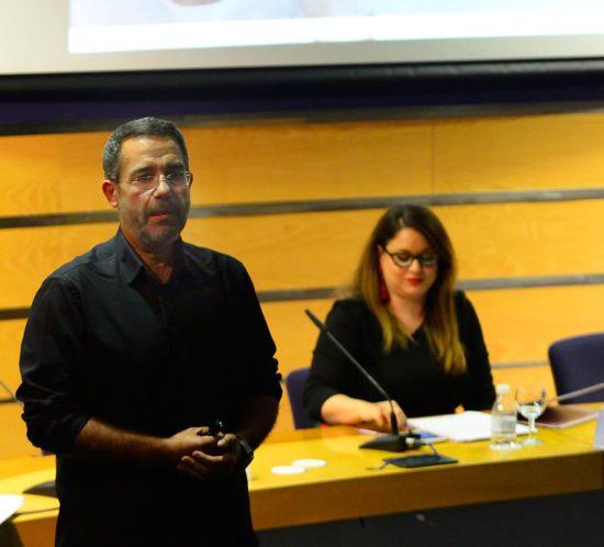 Sergio Oliva conferenciante