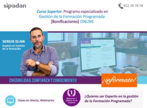 Curso Superior Online: Programa especializado en Gestión de la Formación Programada [Bonificaciones] ONLINE