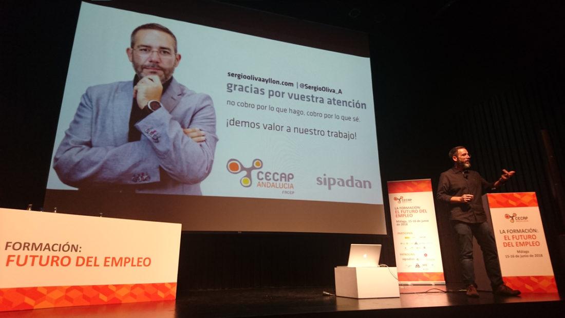 Sergio Oliva, Experto en Gestión de la formación Programada