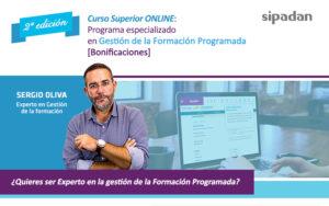 Programa especializado en Gestión de la Formación Programada [Bonificaciones] ONLINE