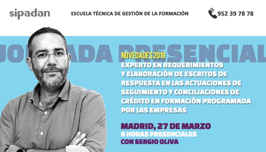 6 horas de formacion con Sergio Oliva
