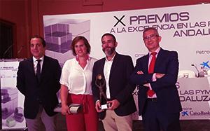 Entrega de los X Premios a la Excelencia en las Pymes Andaluzas